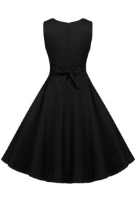 black pin up dresses