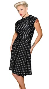 bridget black pin up dresses