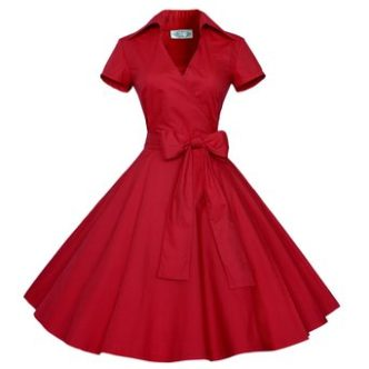 front Swing Rockabilly Dress