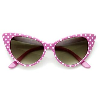 front rockabilly style sunglasses
